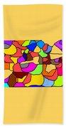 Mosaic Beach Towel