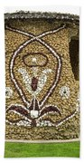 Mosaic Stone Bandstand In Anacortes Beach Sheet