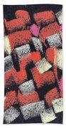 Mosaics Multicolor Beach Towel