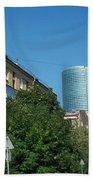Moscow Business Centre Beach Towel