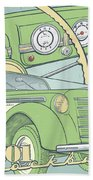 Moskvich 401 Beach Towel