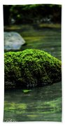 Moss In A Spring Beach Towel