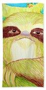 Mossy Sloth Beach Towel