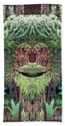 Mossman Tree Stump Beach Towel