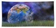 Mother Earth Series Plate4 Beach Sheet