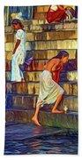 Mother Ganges - Paint Beach Towel