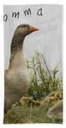 Mother Goose Beach Towel