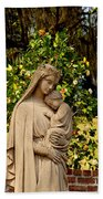 Mother Mary Beach Towel