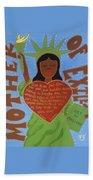 Mother Of Exiles Beach Sheet