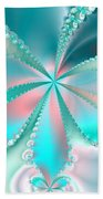 Mother Of Pearl Butterfly Beach Towel