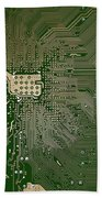 Motherboard Architecture Green Beach Towel