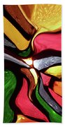Motion And Light Abstract Beach Towel