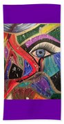 Motley Eye Beach Towel