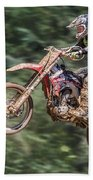 Motocross Beach Towel