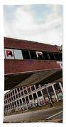Motor City Industrial Park The Detroit Packard Plant Beach Towel