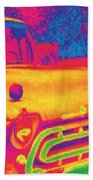 Motor City Pop #6 Beach Towel
