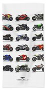 Motorcycle Concepts 2017-2018 Beach Towel