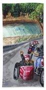 Motorcycle Ride Beach Towel