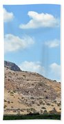 Mount Arbel 5 Beach Towel