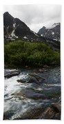 Mount Assiniboine Canada 15 Beach Towel