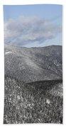 Mount Carrigain - White Mountains New Hampshire Usa Beach Sheet