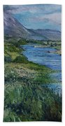 Mount Errigal Co. Donegal Ireland. 2016 Beach Towel