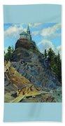 Mount Grace 1890 Apollinaris M Vasnetsov Beach Towel