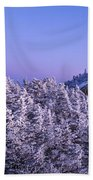 Mount Liberty Blue Hour Panorama Beach Towel