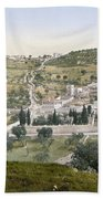 Mount Of Olives, C1900 Beach Towel