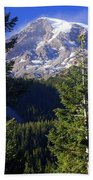 Mount Raineer 1 Beach Towel