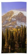 Mount Raineer 2 Beach Towel