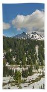 Mount Rainier National Park Tatoosh Range Beach Sheet