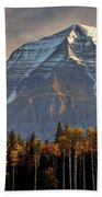 Mount Robson Beach Towel