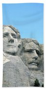 Mount Rushmore Beach Towel by American School