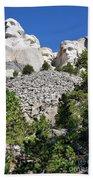 Mount Rushmore II Beach Towel