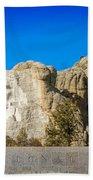 Mount Rushmore National Memorial Beach Towel