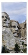 Mount Rushmore National Monument Beach Towel
