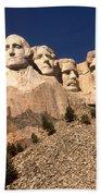 Mount Rushmore National Monument South Dakota Beach Towel