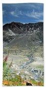 Mount Saint Helens Caldera Beach Towel