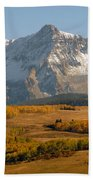 Mount Sneffels Beach Towel