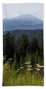 Mount St Helens In Washington State Beach Towel