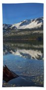 Mount Tallac And Fallen Leaf Lake Beach Towel