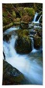 Mount Tam Waterfall Beach Towel