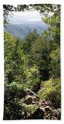 Mount Tamalpais Forest View Beach Towel