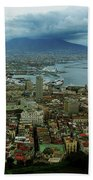 Mount Vesuvius Naples It Beach Towel