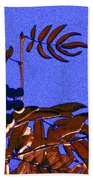 Mountain Ash Design Beach Towel
