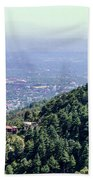 Mountain City Dharamshala Beach Towel