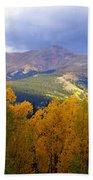 Mountain Fall Beach Towel