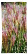 Mountain Grass Beach Towel
