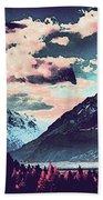 Mountain  Landscape Vista Beach Towel